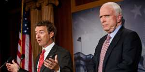 John McCain claims Rand Paul is working for Putin