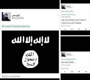 Breaking: Potential ISIS member tweets about Manchester Terror Attack