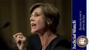 Judicial Watch sues Sally Yates to obtain Justice Department emails