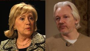 FLASHBACK: Hillary Clinton calls for drone strike on Julian Assange