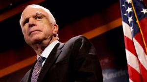 WATCH: Guy calls for Senator McCain to be arrested and tried for Treason