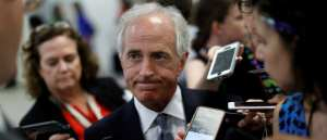 "Cryin' Corker: Trump is an ""utterly untruthful President"""