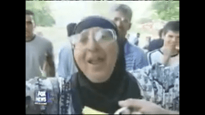 FLASHBACK: Palestinian people celebrate in the streets after 9/11