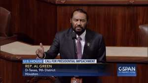 LOL: Rep. AL Green tries impeachment, fails