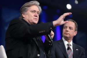 Trump on Bannon: `When he was fired, he not only lost his job, he lost his mind'