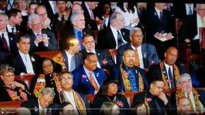 WATCH: Black Caucus refuses to stand for lowest black unemployment rate in U.S History