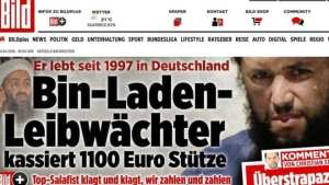 Bin Laden's bodyguard receiving welfare payments in Germany