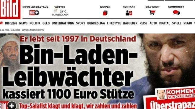 Bin Laden's bodyguard receiving welfare payments in Germany