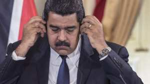 SOCIALISM: Venezuelan President Nicolás Maduro warns he'll take up arms if he loses election