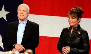Report: Sarah Palin barred from McCain's funeral