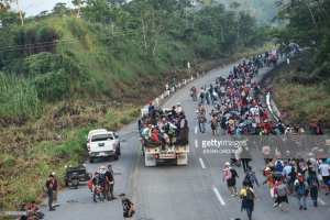 REPORT! 2nd caravan armed with guns and bombs heading to the border