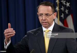 Former FBI counsel! Rosenstein wire comment was taken seriously