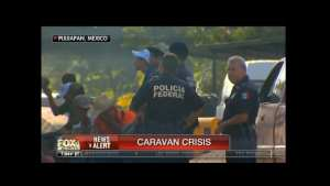 WATCH! Mexico Feds forcing buses to drive migrants towards U.S border