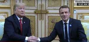 "Trump Trolls Macron ""Make France Great Again!"""