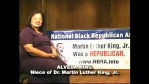 """MLK'S NIECE! """"Martin Luther King, Jr. Was A Republican"""""""