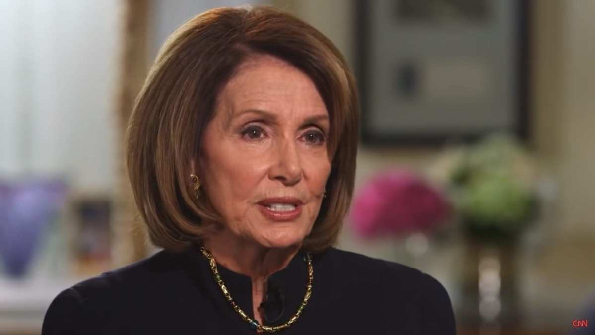PELOSI SAYS NEXT DEM PREZ COULD TARGET 2A WITH NATIONAL EMERGENCY
