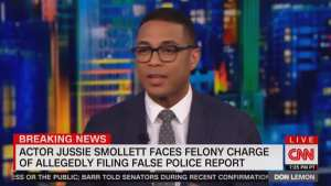 """DON LEMON: IT'S NOT JUSSIE SMOLLETT'S """"FAULT"""" THAT HE LOST IN THE COURT OF PUBLIC OPINION"""