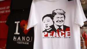 'Rocket Man' t-shirts being sold in Vietnam before Trump-Kim summit