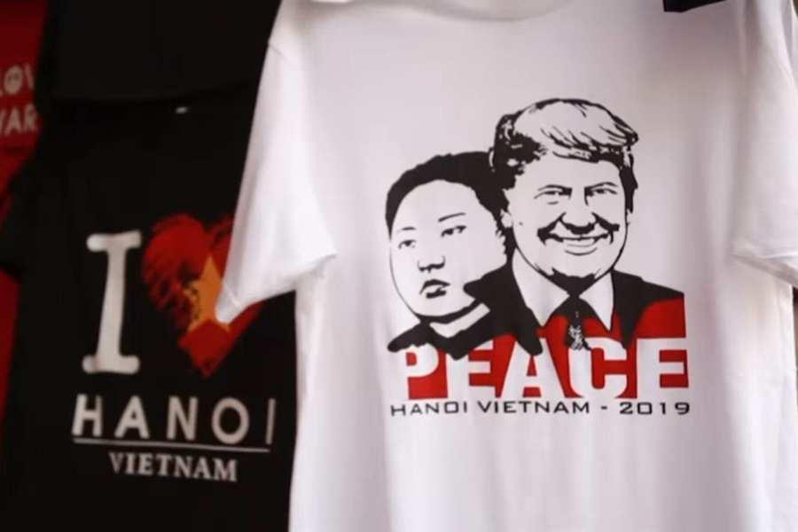 'Rocket Man' t-shirts being sold in Vietnam before Trump-Kim summit