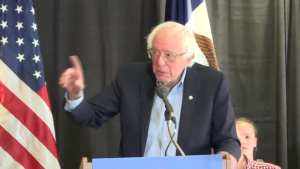 "Bernie Sanders on open borders! ""I don't think that's something that we can do"""