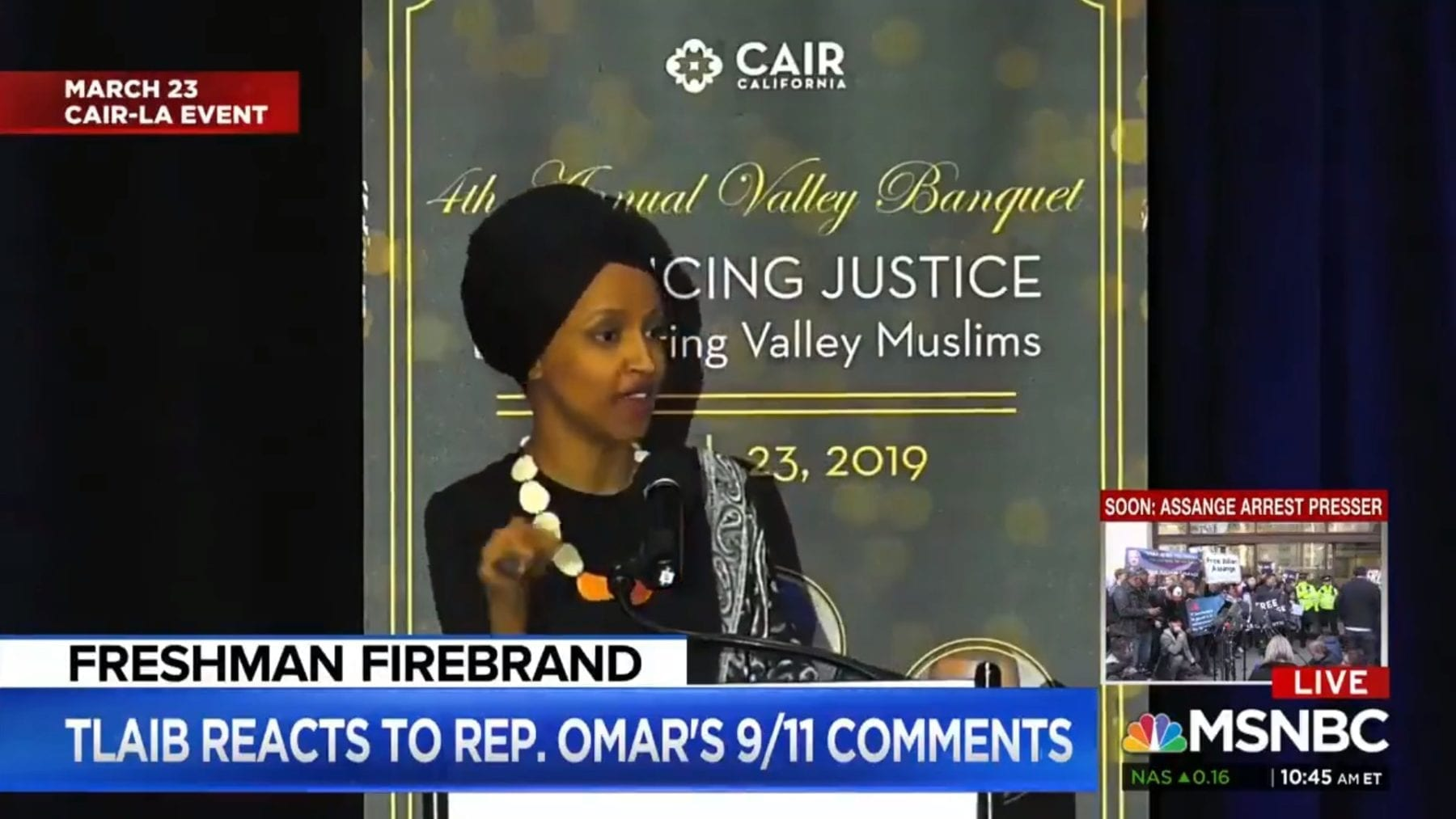 AOC, Tlaib stand behind Omar's 9/11 remarks   The Palmieri
