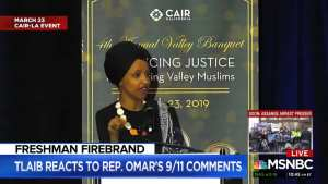 AOC, Tlaib stand behind Omar's 9/11 remarks