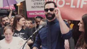 Matt Walsh! Pro-Abortion lefties threatened to 'rape' my wife and daughter