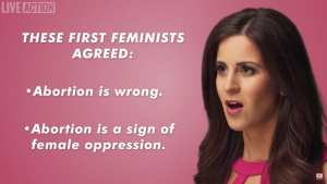 WATCH! Early feminists viewed Abortion as sign of oppression