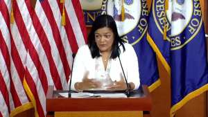 "Pramila Jayapal! Can't be a Dem ""if you're against abortion"""