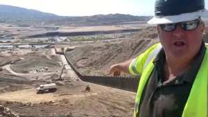 WATCH! Private donor built Wall blocks 19 MAJOR alien footpaths