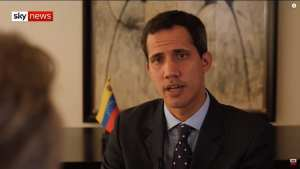 REAL Venezuelan President Juan Guaido has to shower by bucket