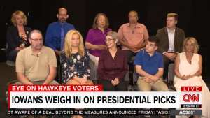 Iowa voters tell CNN why they support President Trump