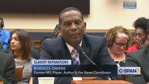 "Burgess Owens: ""I used to be a Democrat"" then ""found out the misery that that party brought to my race"""