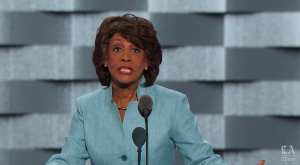 Maxine Waters pushes Iranian propaganda to attack Trump