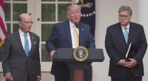 """Trump warns Dems, Aliens with EO: """"we will leave no stone unturned"""" in counting Citizens and Non-citizens"""