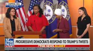 AOC, Omar, Pressley say nothing when asked to condemn ICE facility terrorist
