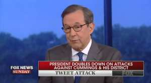Chris Wallace questions whether Trump thinks Baltimore residents are humans