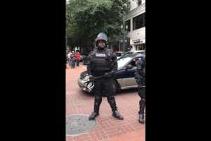 "Antifa calls black officer ""Uncle Tom"", ""race traitor"""