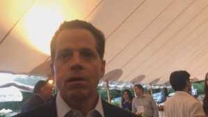 Mooch spotted at Joe Biden event