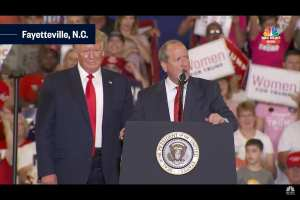 Trump rally flipped Cumberland county for Pro-Trump Bishop