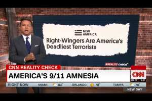 CNN calls right-wingers real threat on day of 9/11