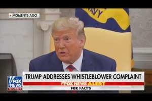 Trump calls for Media to look into Joe Biden's Ukrainian Scandal