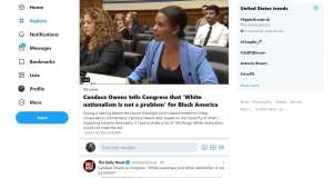 Twitter uses a misleading headline to smear Candace Owens