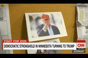 CNN shocked to find Democrat stronghold now voting Trump