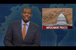 SNL jokes about Trump assassination because impeachment takes to long