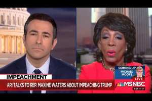 "Maxine Waters calls for Trump be put in ""solitary confinement"""