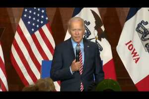 "Biden: ""China's not our problem"""