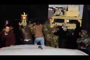WATCH: Iraqi Security opens Green Zone gate to Iran-backed Militia