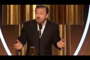 Gervais bashes Celebs for being friends with Epstein