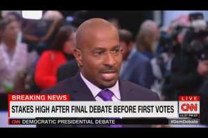 "Van Jones: I saw nothing at Dem Debate ""that would be able to take Donald Trump out."""